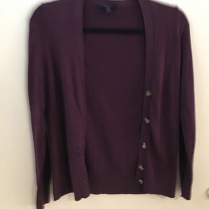 Tommy Hilfiger Size XS cardigan in purple